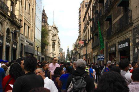 Pěší zóna Madero