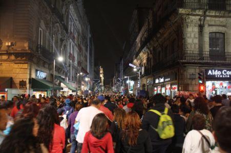 Madero v noci