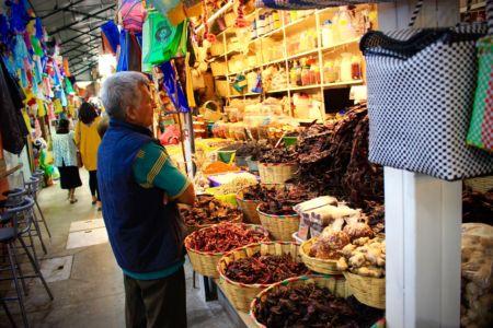 Na trhu v Oaxace