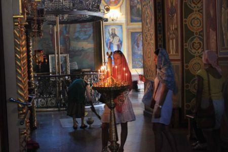 V pravoslavném kostele