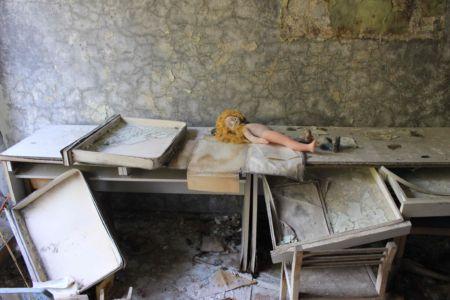 Opuštěná škola v Pripjati