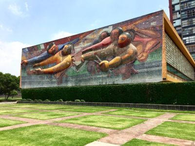 Mural na rektorátu