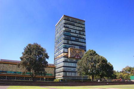 UNAM - budova rektorátu